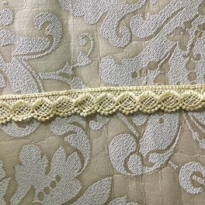 Embroidered Cream Lace