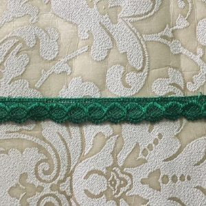 Embroidered Green Lace