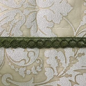 Embroidered Aloevera Green Lace