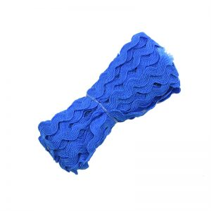 Royal Blue Zig Zag Lace