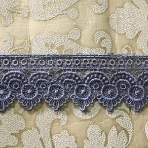 Embroidered Grey Lace
