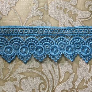 Embroidered Blue Lace