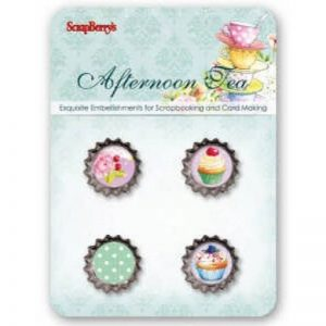 Scrapberry's Afternoon Tea Embellishments
