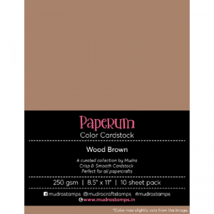 Wood Brown-Paperum