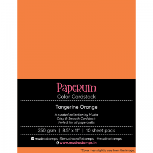 Tangerine Orange-paperum