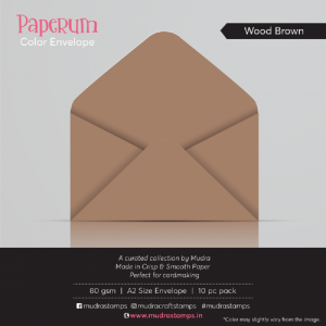 Wood Brown - Paperum Envelope