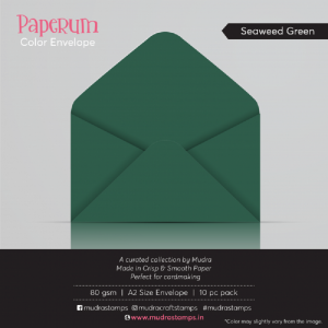 Seaweed Green - Paperum Envelope