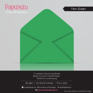 Fern Green - Paperum Envelope