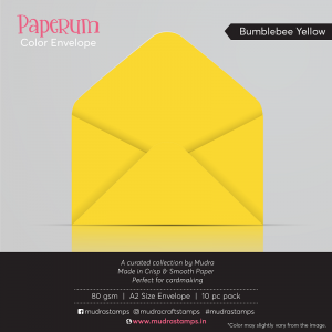 Bumblebee Yellow - Paperum Envelope