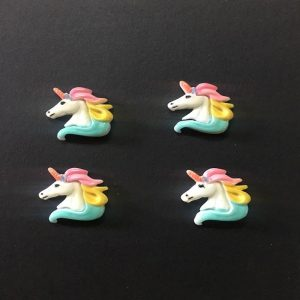 Unicorn Head Resin Embellishment