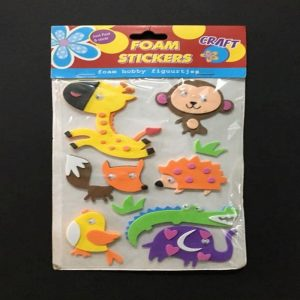 Foam Stickers - Jungle Theme