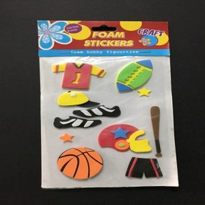 Foam Stickers - Sports Theme