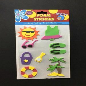 Foam Stickers - Summer Theme