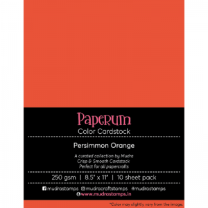 Persimmon Orange-Paperum