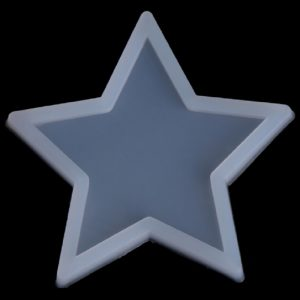 Silicone Resin Five Sided Star Mould