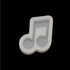 Musical Note Shape Silicone Mould Style 1