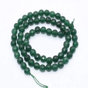 Bottle Green Agate Beads