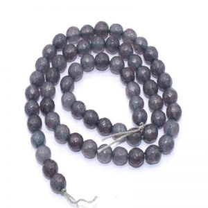 Dark Grey Agate Beads