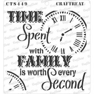 CrafTreat Stencil - Family Time
