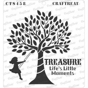 CrafTreat Stencil - Life's Little Moments