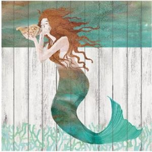 Mermaid Under The Sea Decoupage Napkin