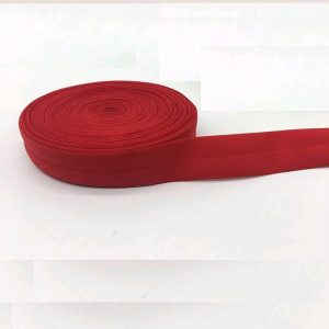 Fold Over Elastic - Red