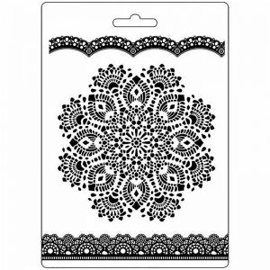 Stamperia Soft Mould A5 - Doily Pattern