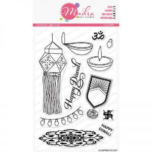 Mudra Clear Stamp - Festival of Lights