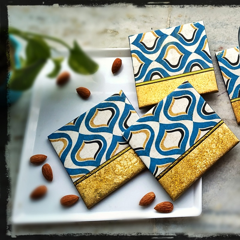 Altering Ceramic Tiles Into Home Décor by Tulika Saha