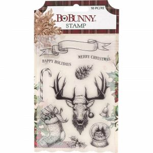 Bo Bunny Christmas Treasures Stamp Set