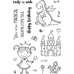 Jane's Doodles Clear Stamps - Magical