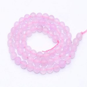 Light Pink Agate Beads