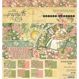 Graphic 45 Double-Sided Paper Pad Garden Goddess