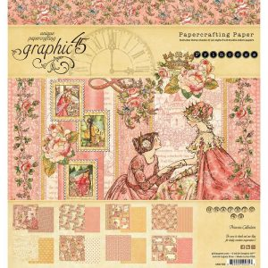 Graphic 45 Double-Sided Paper Pad Princess
