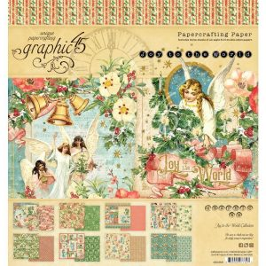 Graphic 45 Double-Sided Paper Pad Joy To The World
