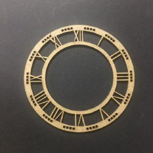 MDF Clock Frame - 4 inches
