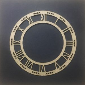 MDF Clock Frame - 6 inches