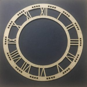 MDF Clock Frame - 7 inches