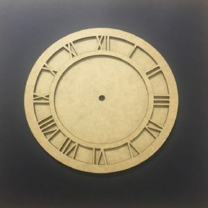 MDF Clock Frame Set - 8 Inches