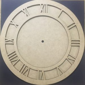 MDF Clock Frame Set - 12 Inches