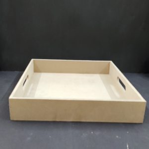 MDF Square Tray 14 x 14 inches