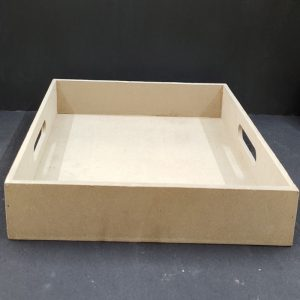 MDF Square Tray 12 x 12 inches