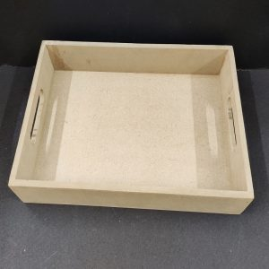 MDF Square Tray 10 x 10 inches