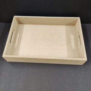 MDF Rectangle Tray 14 x 10 x 2 inches