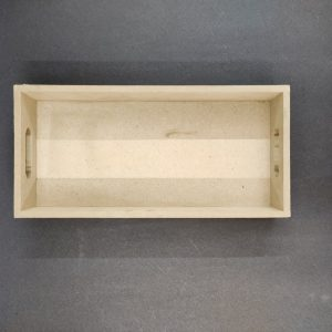 MDF Rectangle Tray 10 x 6 x 2 inches