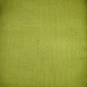 Jute Fabric - Lemon Yellow