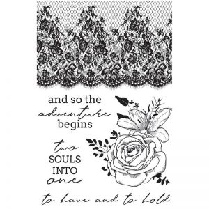 Kaisercraft - Paradise Two Souls Clear Stamp Set