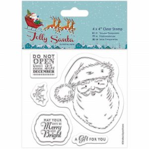 Papermania Jolly Santa Clear Stamps