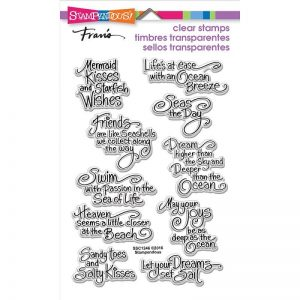 Stampendous Ocean Wisdom Perfectly Clear Rubber Stamp