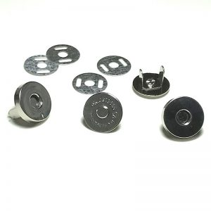Magnetic Button Clasp Snaps - 14 mm